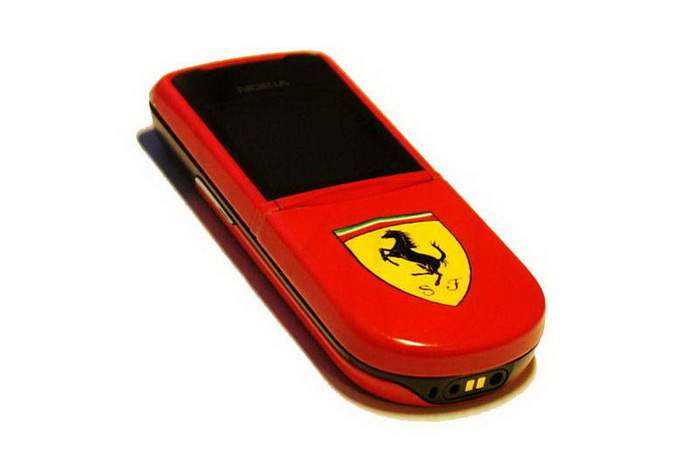 MJ Ferrari Mobile Phone - Nokia 8800 Sirocco Ferrari Limited Edition