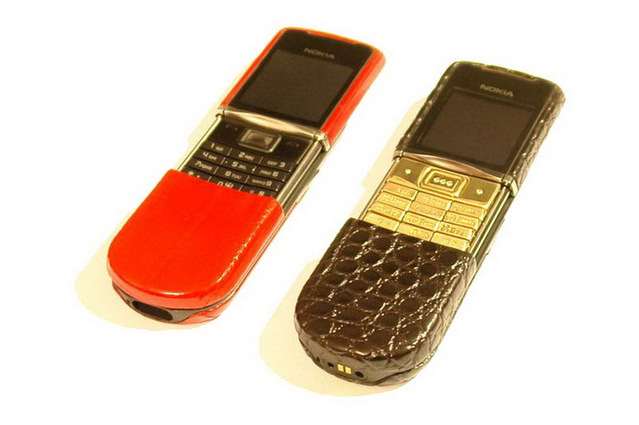 MJ Leather Mobile Phone - Nokia 8800 Sirocco Limited Edition. Patented Technology.