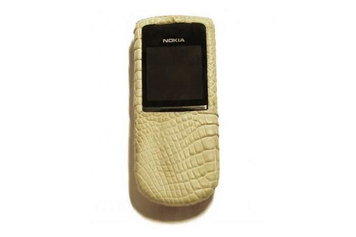 MJ Wild Genuine Leather - Nokia 8800 Sirocco Crocodile Leather