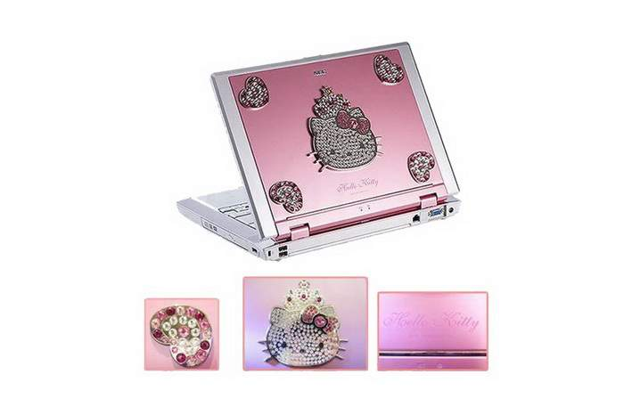 MJ Super Laptop - Hallo Kitty, Titan Case, Jeweler Gifts