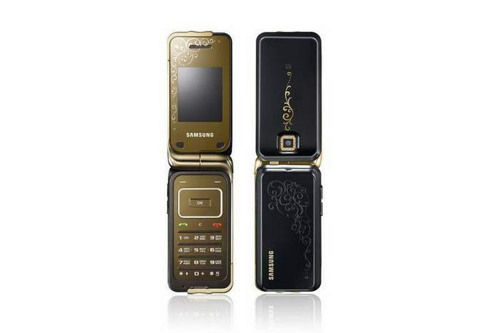 MJ Design Mobile Phone - Samsung Art, Pure Gold, Limited Edition