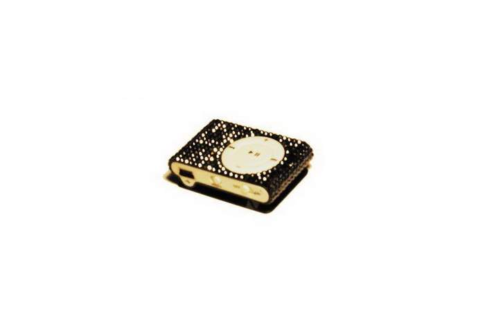 MJ Audio MP3 Player Swarovski Edition - Apple iPod Shuffle Inlaid Crystals