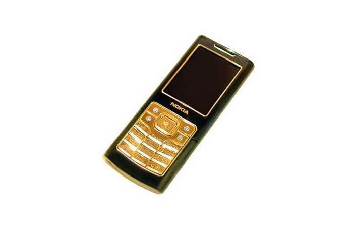 MJ Lux Phone Limited Edition - Nokia 6500 Gold Diamond Edition